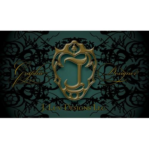J. Luv Designs LLC Business Card