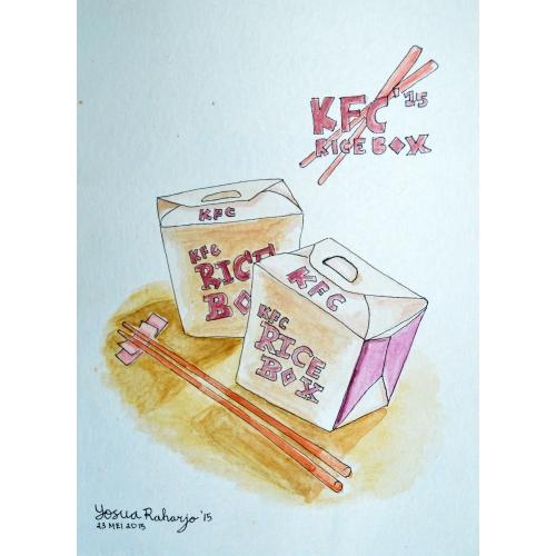 RiceBox KFC Watercolor