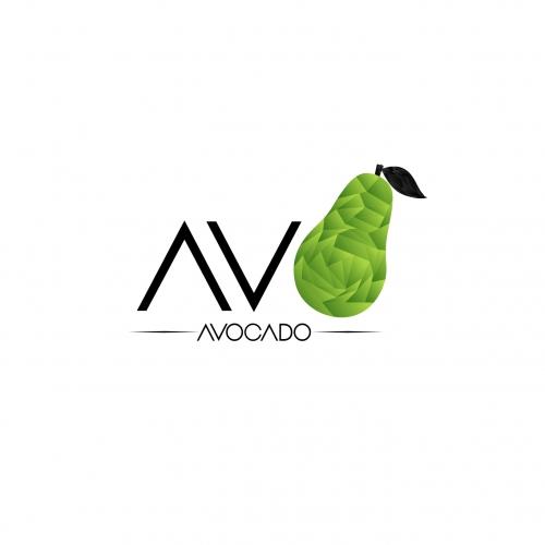 logo illustration avocado