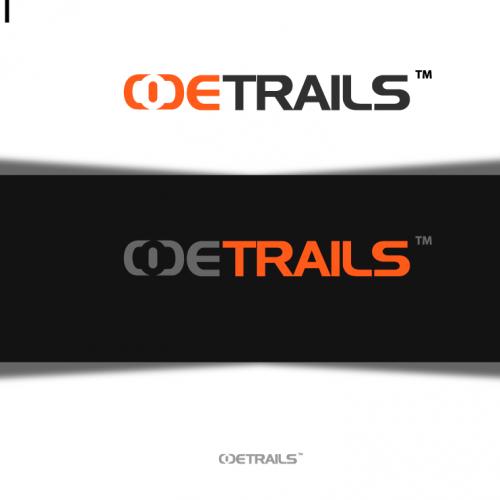 code trails logo design