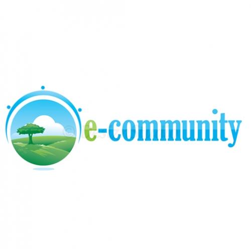 e- Community Logo