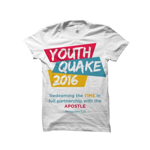 YOUTH QUAKE SHIRT DESIGN
