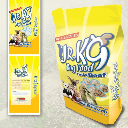Jr. K9 Packaging Design