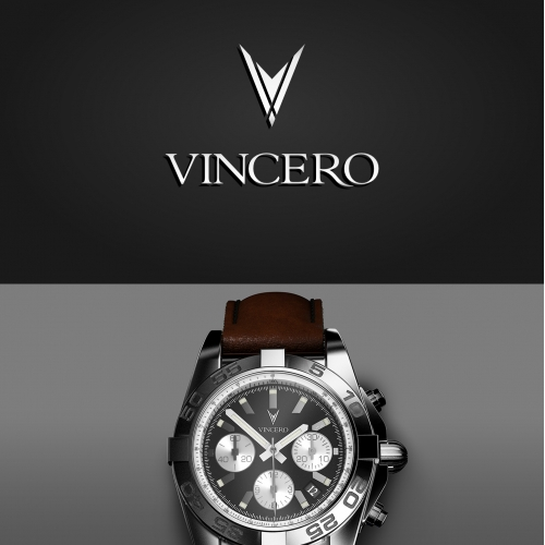 Logo for Vincero luxury watches