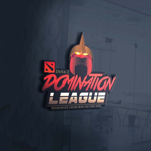 Domination League Logo Design