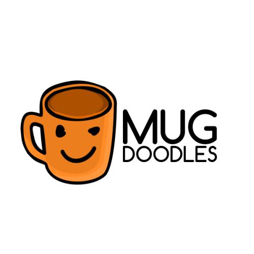 Mug Doodle Logo.