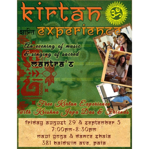 Kirtan Poster design