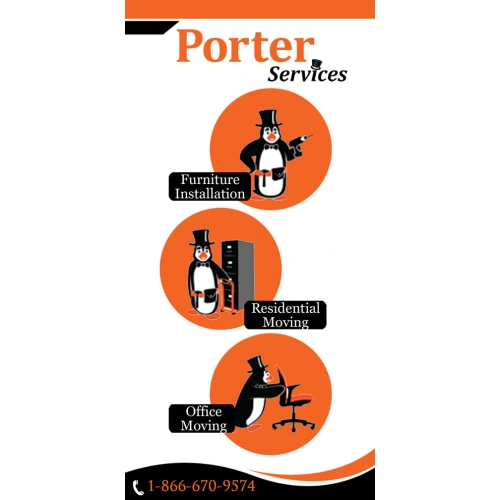 Rollup Banner Design for POrter