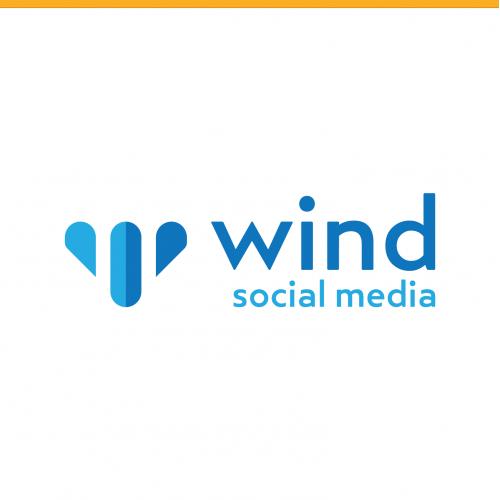 Wind Social Logo Design