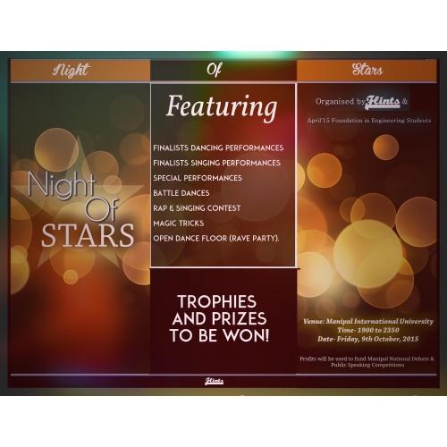 Night of Stars Brochure