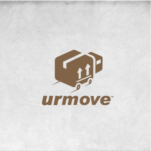 urmove logo design.