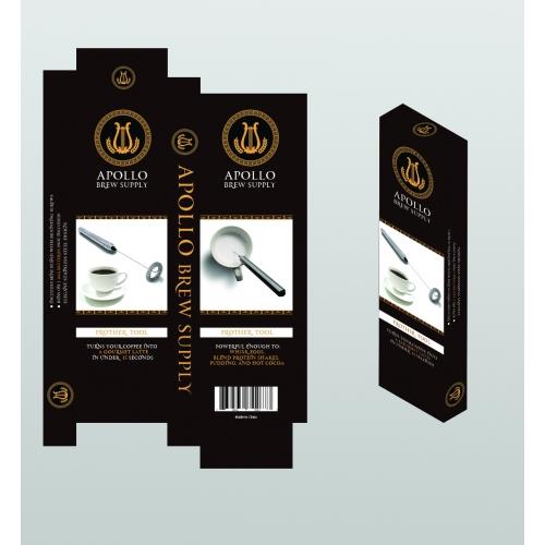 Apollo Brew Packaging Design