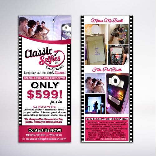 Photobooth Rack Card Design